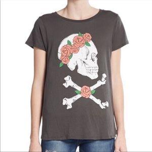 Wildfox Donovan Deadhead Graphic tee Sz M T-shirt